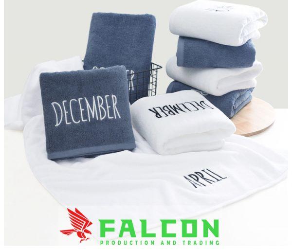 Công ty sản xuất khăn tắm khách sạn falcon