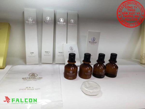 Công ty cung cấp sữa tắm khách sạn Falcon